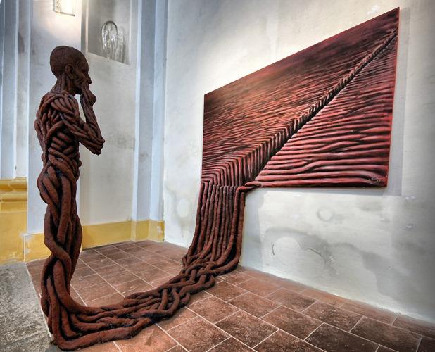 From Juxtapoze by Michael Trpak