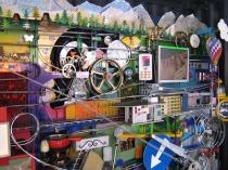 An example of a Rube Goldberg machine