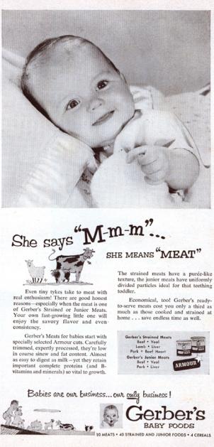 gerbers baby food