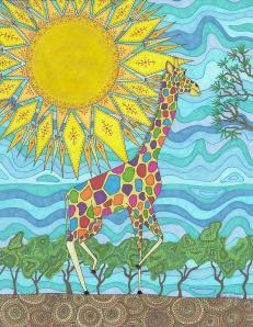 African Rainbow by Pamela Schiermeyer