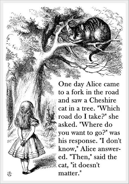 alice i eventyrland citater Down the Rabbit Hole | The Blurred Line alice i eventyrland citater