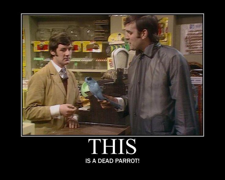 John Cleese, Monty Python, Dead parrot
