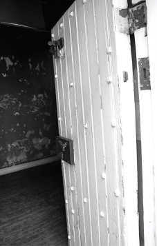 Constitution Hill, Johannesburg, Cell door