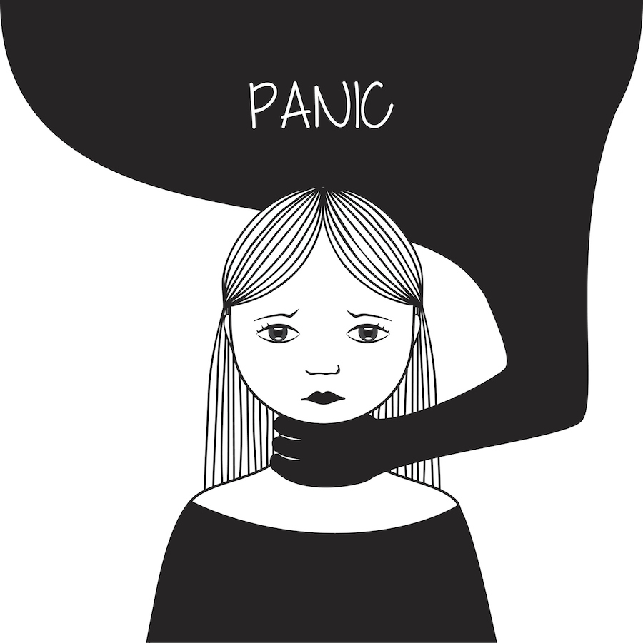 Panic illustration